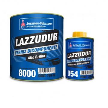 VERNIZ 8000 BI-COMPONENTE 0,75L C/ Catalisador 054 KIT LAZZURIL