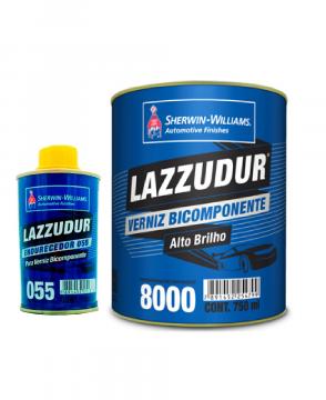 Verniz 8000 BI-COMPONENTE 0,75L C/ Catalisador 055 KIT LAZZURIL