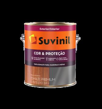 Esmalte Cor & Proteção Brilhante Branco 3,6L Suvinil