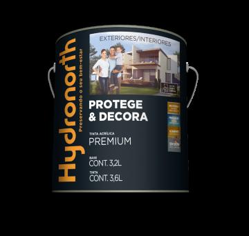 Acrílico Acetinado Lave e Limpe Branco 3,6L Hydronorth