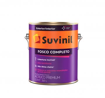 Acrílico Fosco Completo Branco 3,6L Suvinil
