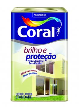Acrilíco Semibrilho Branco Coral 18L