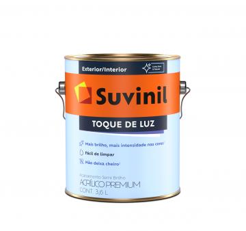 Acrílico Semi Brilho Toque de Luz Branco 3,6L Suvinil