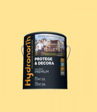 Acrílico Amarelo Canário Semibrilho Hydronorth Premium 3,6L