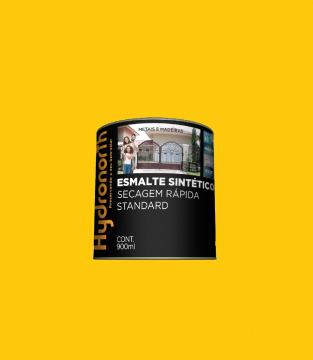 Esmalte Brilhante Amarelo Ouro 0,9L Hydronorth