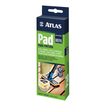 Refil para Pad para Pintura AT 750/55 Atlas