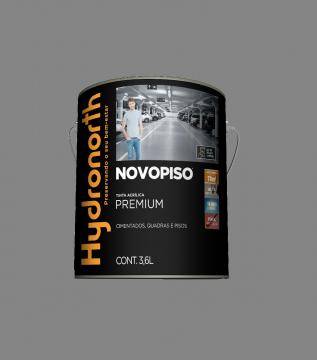 Tinta Piso Cinza 3,6L Novopiso