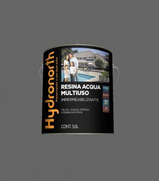 Resina Acqua Multiuso Cinza 3,6L