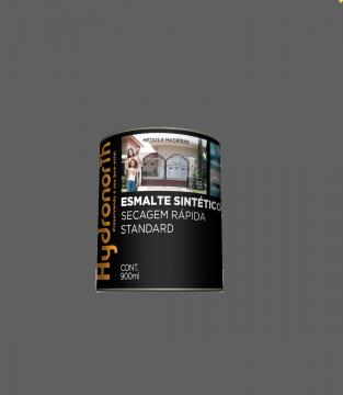 Esmalte Brilhante Cinza Escuro 0,9L Hydronorth