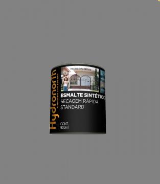Esmalte Brilhante Cinza Médio 0,9L Hydronorth