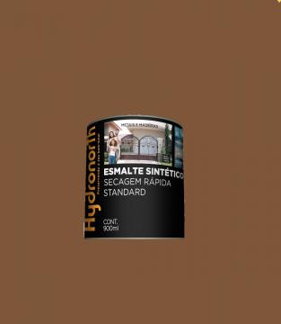 Esmalte Brilhante Marrom Conhaque 0,9L Hydronorth