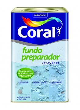 Fundo Preparador 18L Coral