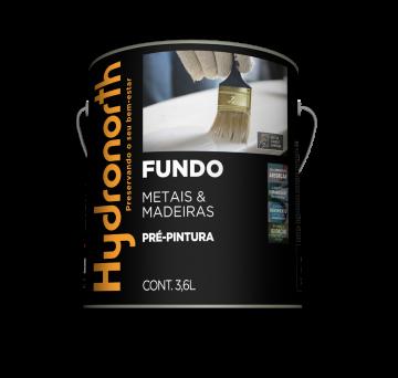 Fundo Branco Fosco Nivelador 3,6L Hydronorth