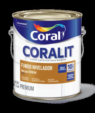 Fundo Branco Fosco Nivelador 3,6L Coral