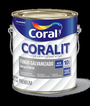 Fundo Galvanizado 3,6L Coral