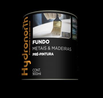Fundo Branco Fosco Nivelador 0,9L Hydronorth