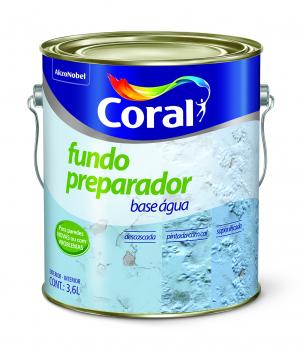 Fundo Preparador 3,6L Coral