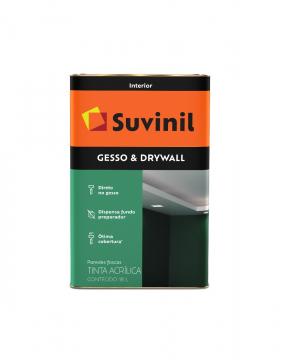 Tinta Gesso & Drywall Branco 18L Suvinil