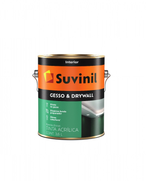 Tinta Gesso & Drywall Branco 3,6L Suvinil