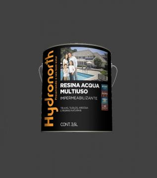 Resina Acqua Multiuso Grafite 3,6L