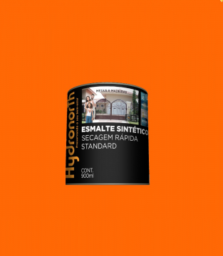 Esmalte Brilhante Laranja 0,9L Hydronorth