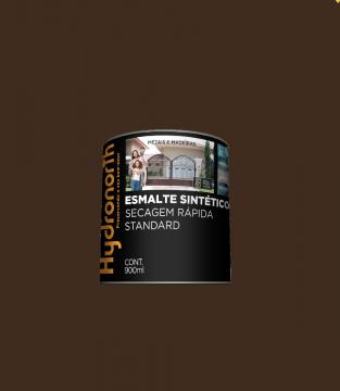 Esmalte Brilhante Marrom 0,9L Hydronorth