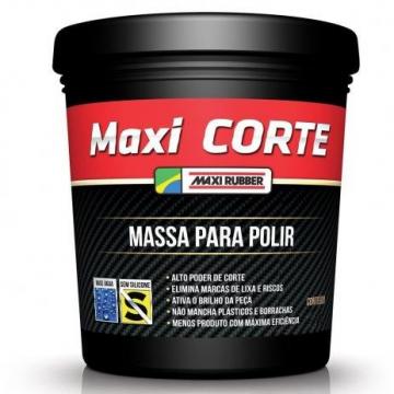 Massa Polir N 2 Maxi Corte 1 KG Maxi Rubber