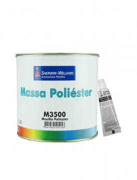 Massa Poliester M3500 1,5KG com Catalisador Lazzuril