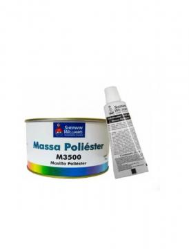 Massa Poliester M3500 750GR com Catalisador Lazzuril
