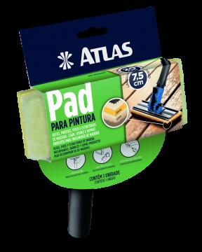 Pad para Pintura com Cabo Plástico AT 750/90 Atlas