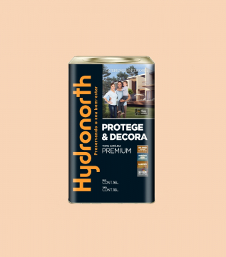Acrílico Pessego Semibrilho Hydronorth Premium 18L