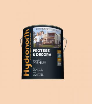 Acrílico Pessego Semibrilho Hydronorth Premium 3,6L