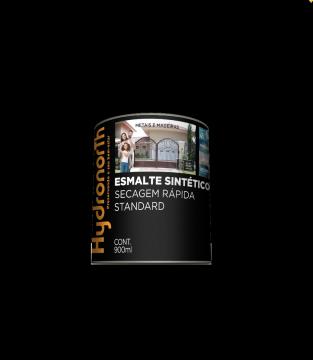 Esmalte Brilhante Preto 0,9L Hydronorth