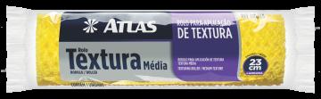 Rolo 110/65 para Textura Média 23cm Atlas