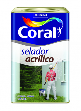 Selador Acrílico 18L Coral