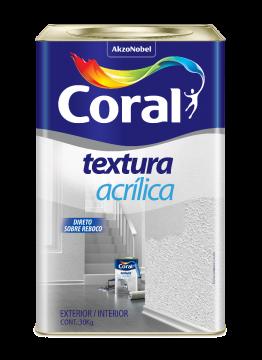 Textura Acrílica Branca 25KG Coral