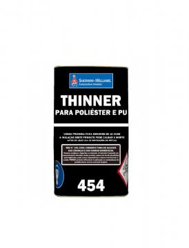 Thinner 454 para PU 5L Lazzuril