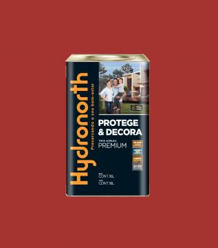 Acrílico Vermelho Grafiatto Semibrilho Hydronorth Premium 18L